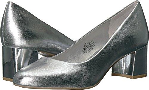 40 Silver Pump (Bandolino Women's Oria Pump, Silver, 7 M US)