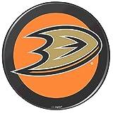 "Amscan Anaheim Ducks Black Hockey Puck Laminated Cardstock Cutout NHL Hockey Sports Party Decoration, 12""."