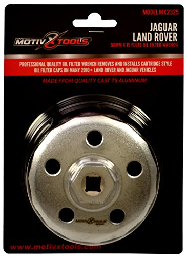 Motivx Tools 90mm 15 Flute Oil Filter Wrench For Land