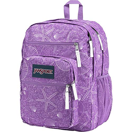 Jansport Unisex Big Student Backpacks, Seashells, One Size