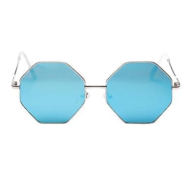 Amazon.com: Gafas de sol para mujer, 1KTon, marco de ocho ...