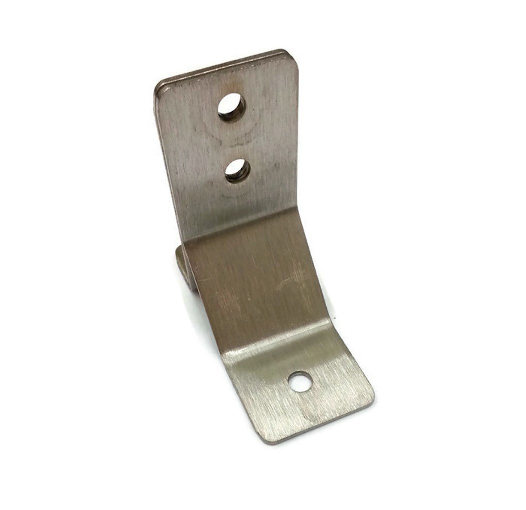 Bobrick 1000974 Stainless Steel Y Bracket for installation of Toilet Partition