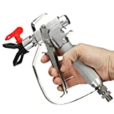 4000PSI Airless Paint Spray Gun Kit with 517 Nozzle Guard for Graco Titan Wagner