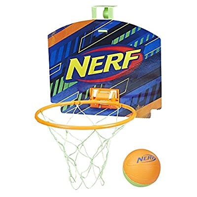 Nerf Sports Nerfoop Orange/Green Ball.: Toys & Games