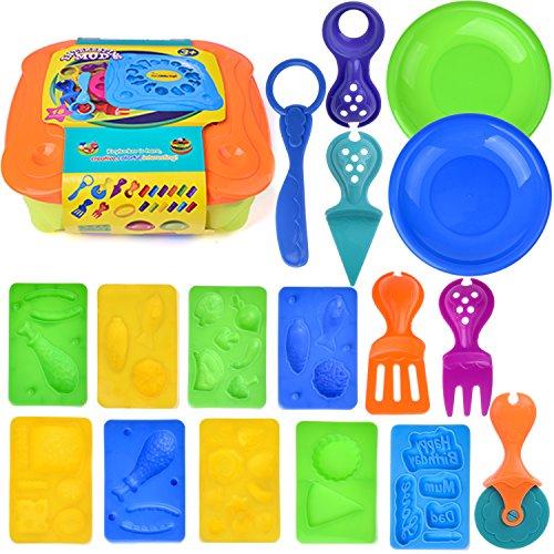play dough fun with food - 8