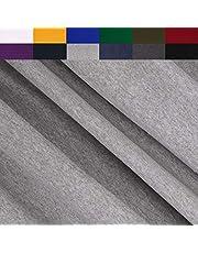 FabricLA Turkish Cotton Jersey Spandex Blend 4 Way Stretch (190GR - 1 Yard) - Lt Grey
