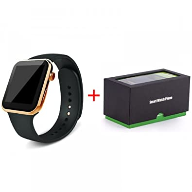 CRAVOG A9 Smartwatch Bluetooth para Apple para iPhone para ...