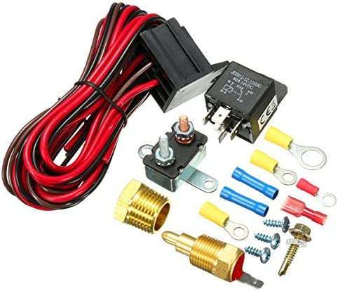 GOZAR 210~195 Grados Motor Refrigeración Ventilador Termostato ...
