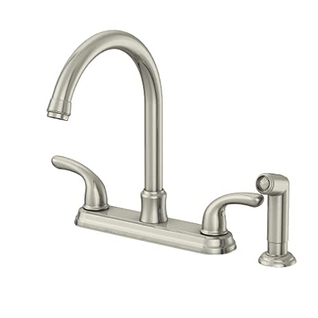 Amazon.com: Glacier Bay 67552-1008D2 Builders 2-Handle Faucet w ...