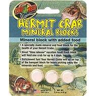 Zoo Med Laboratories SZMHC62 Zoo Hermit Crab Mineral Blocks