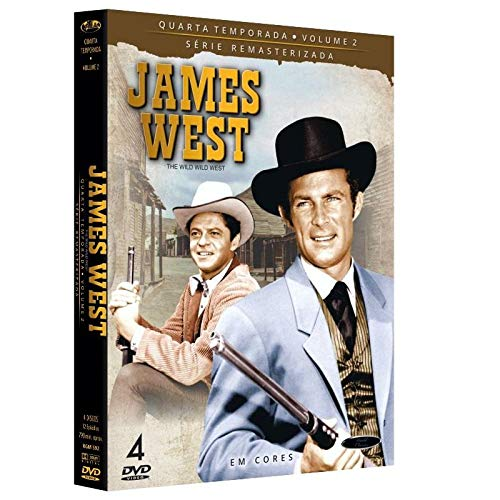 Dvd James West - 4 Temporada Vol.2
