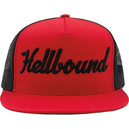 Red Devil Clothing Hellbound Trucker Hat Red/Black ()