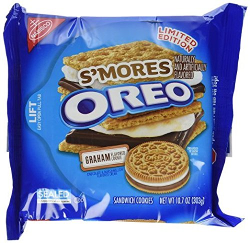 Oreo Smores Sandwich Cookies, 10.7 Ounce 6 Pack Limited Edition