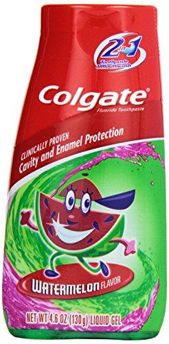 Colgate Toothpaste Mouthwash Watermelon Flavor