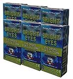 Carnosine Eye Drops 6-Pack (12 x 5ml Bottles) - Ethos Bright Eyes™ NAC Eye Drops (Safe for Glaucoma Sufferers) - NAC n acetyl carnosine eye drops