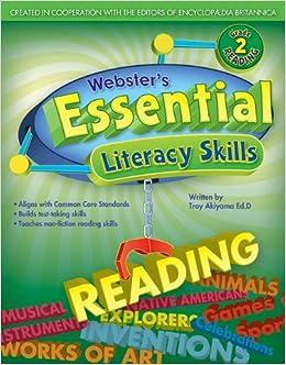 Webster's Essential Literacy Skills: Reading, Grade 2