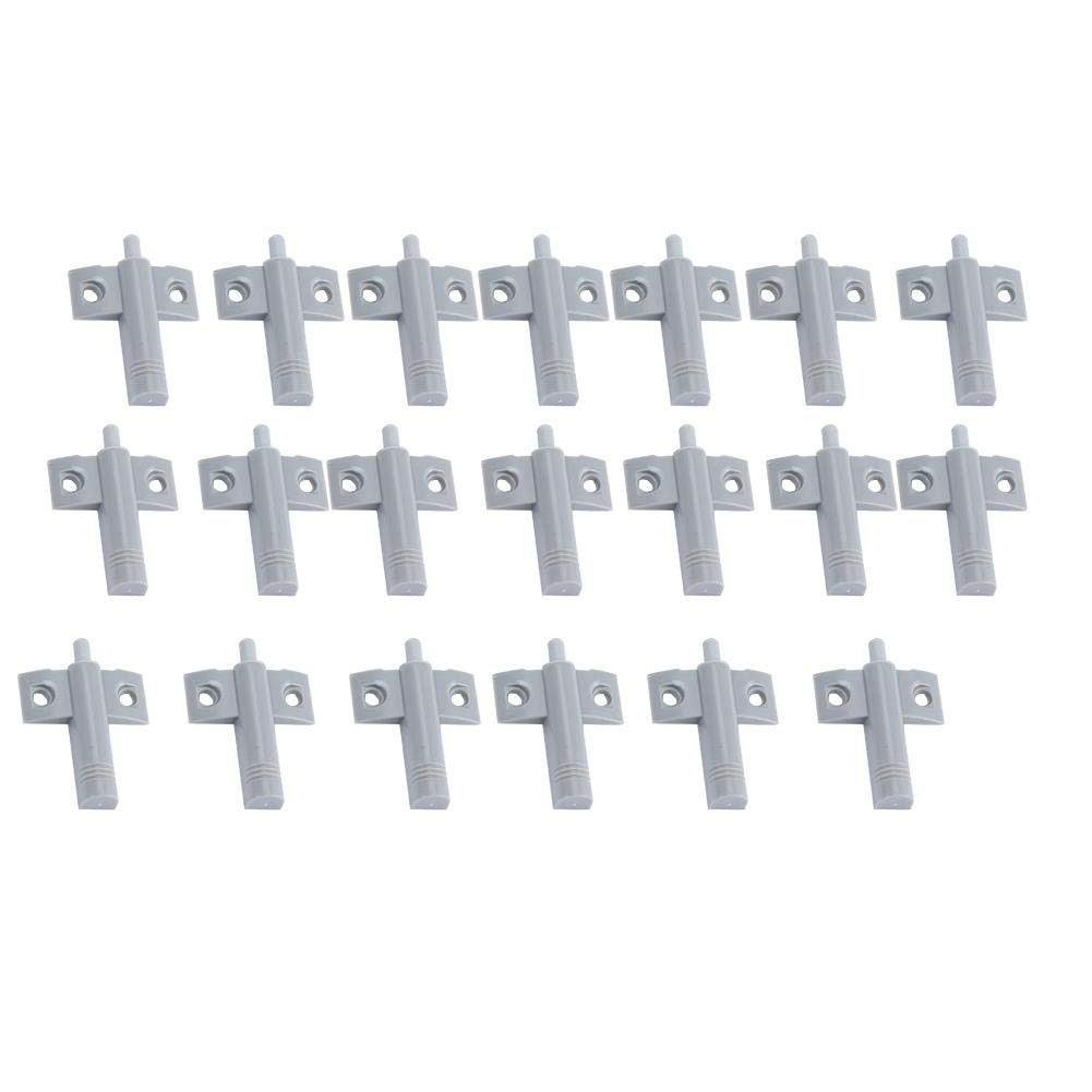 FTVOGUE 20 pcs/lot Plastique Tampon Amortisseur pour tiroir Porte d'armoire Silencieux Plus prè s du Bruit ré duire