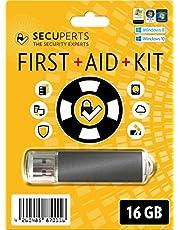 SecuPerts First Aid Kit – Kit de primeros auxilios para Windows en una memoria USB 3.0 de 16GB