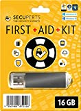 SecuPerts First Aid Kit – First aid kit for Windows – Data Recovery and Virus Scanning – 16GB USB3.0 stick