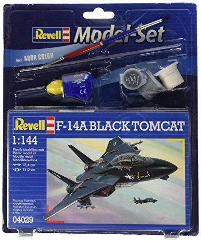 Revell Modellbausatz 64029 - Model Set F-14A