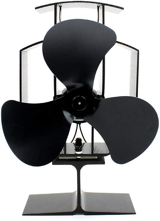 Ventilador De Chimenea con Ventilador Ecológico para Chimeneas Y ...