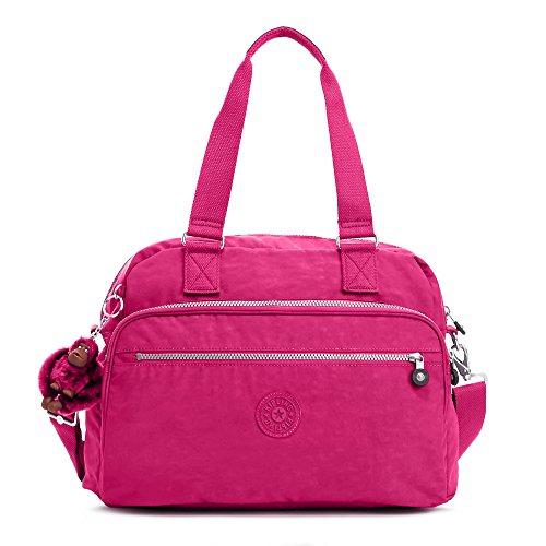 Kipling Women`s New Weekend Travel Bag (One Size, Spring Red (937)) by Kipling