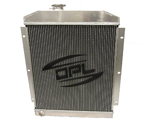 (NEW) OPL Universal Aluminum Performance Radiator for Griffin Hot Rat Rod Ford Chevy Dodge (Automatic Transmission)