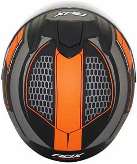 Casque integral ADX XR1 Battleground Noir//Orange XS