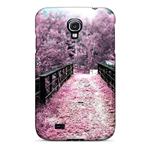 New Arrival Bridges Sakura Depth Of Field Selective For Galaxy S4 Case Cover