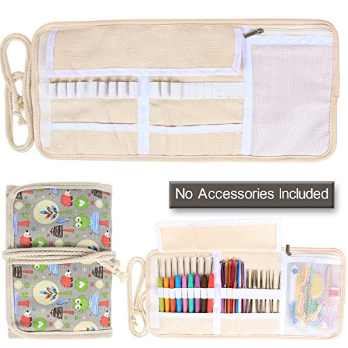 Damero Knitting Accessories Organizer Included