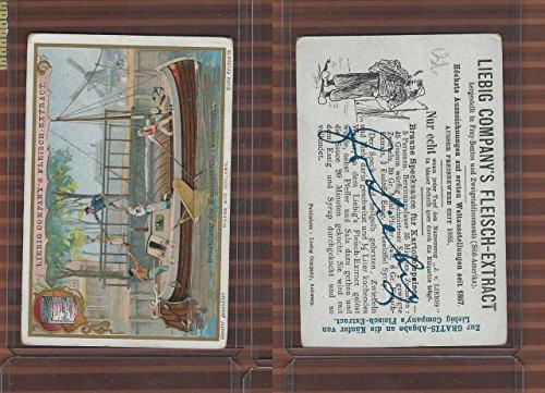 L0-0 Liebig Fleisch Extract, Payment of Canal Fee, Boat Windmill (Fleisch Extract)