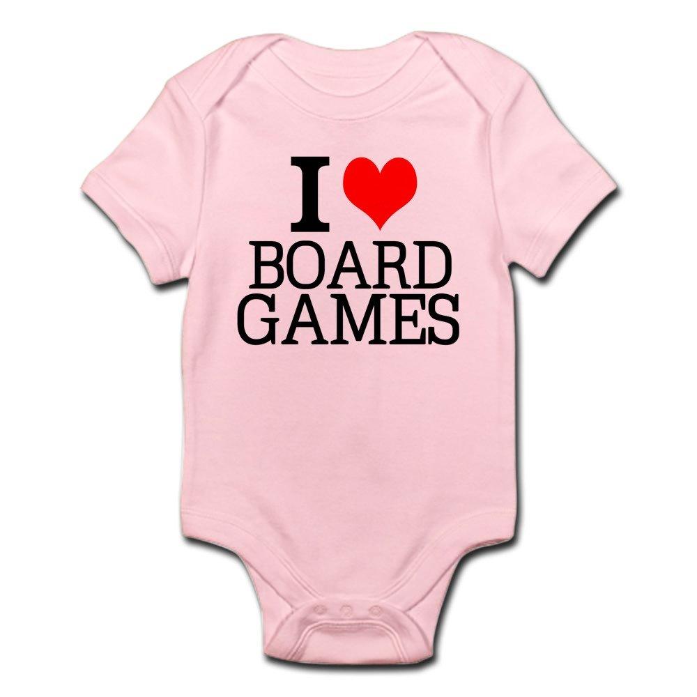 CafePress - I Love Board Games Body Suit - Cute Infant Bodysuit Baby Romper