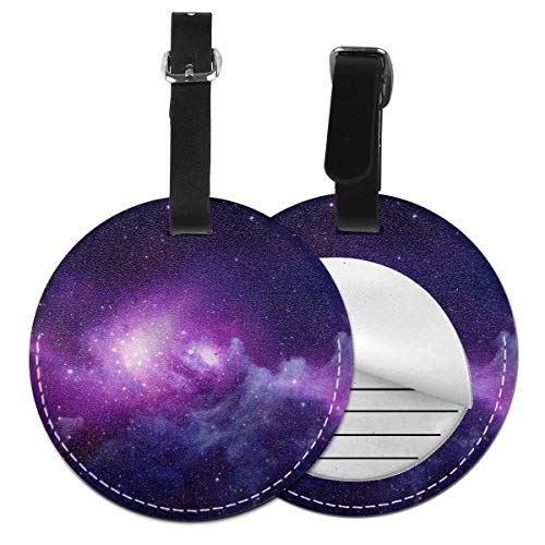 - Cruise Tags Etag Luggage Bag Tags With Adjustable PVC Loop Fun Galaxy Bags & Baggage Tags Luggage Tags For Women Men - Personalized Suitcase Tag Lables