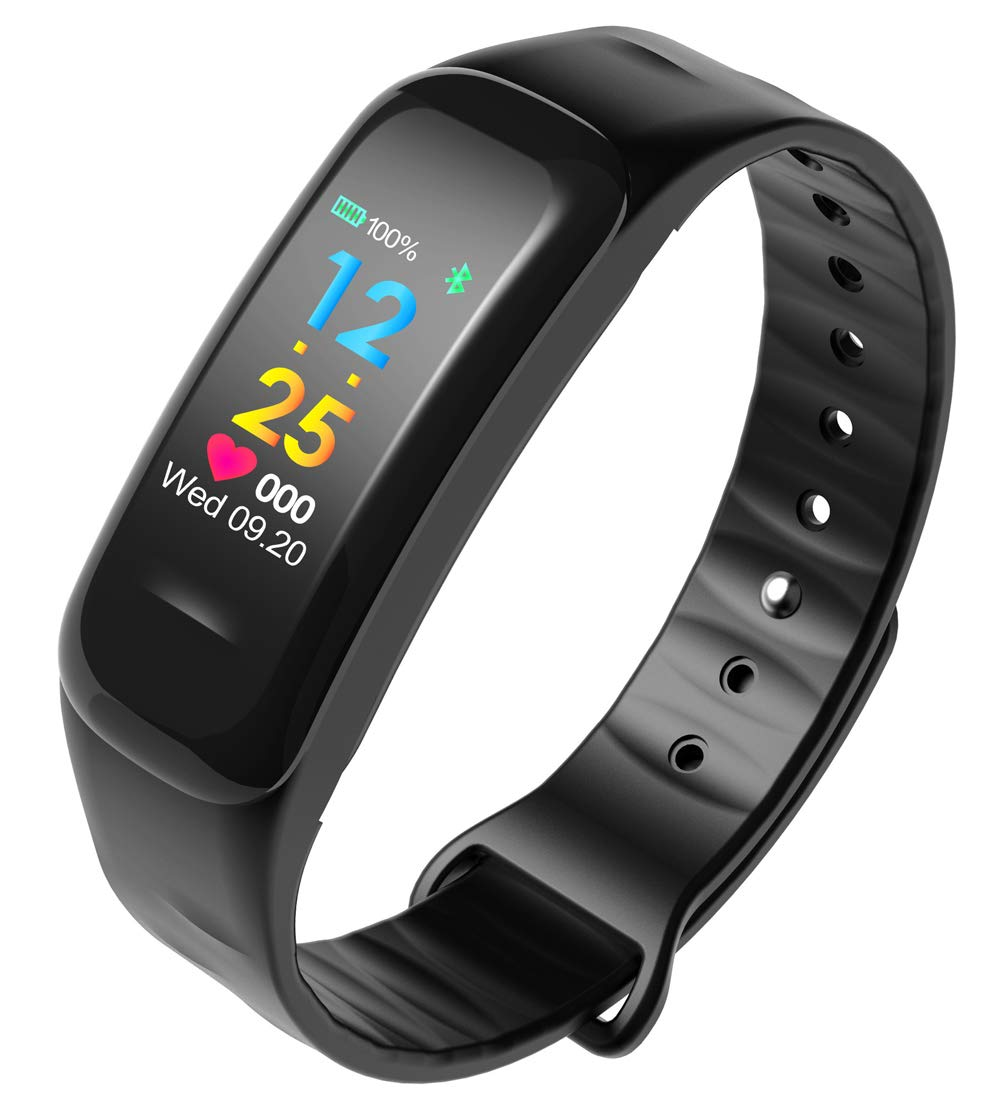 YANGYA Ip67 Waterproof Smart Watch with Sleep Monitor, Pedometer Smart Wristband, Compatible with Android iOS Activity Tracker by YANGYA