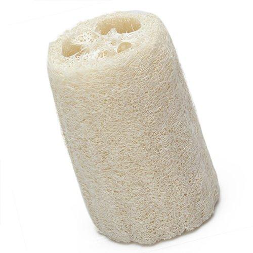 Natural Loofah Bath Shower Sponge Scrubber Off White