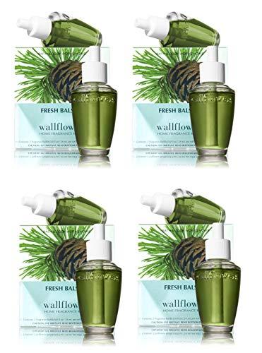 (Fresh Balsam Wallflowers - EIGHT Refill Bulbs - Bath & Body)
