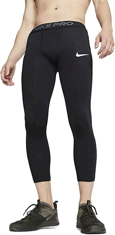 Amazon.com: Nike Men's Pro Compression 3/4 Tights: Clothing