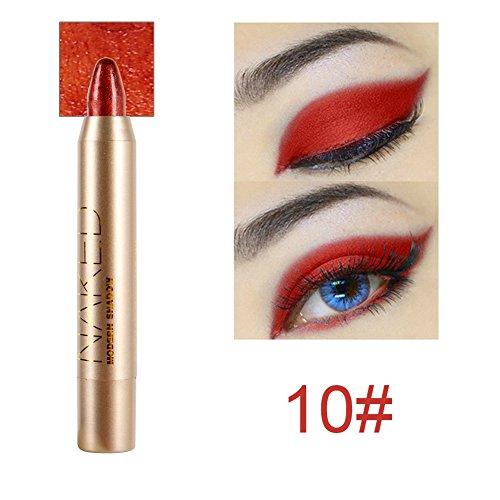 Cocohot Professional Eyeshadow Pencil Eye Shadow & Liner Combination Makeup Eyeliner Pencil Pen (J10) -