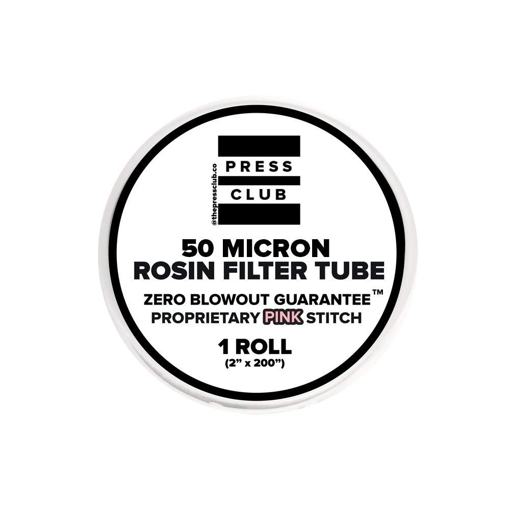 50 Micron   Premium Nylon Rosin Tea Filter Screen Press Tube   2'' x 200''   1 Roll   Zero Blowout Guarantee   All Micron & Sizes Available
