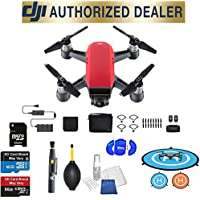DJI Spark Fly More Combo (Lava Red) Best Accessory Basic Bundle Package Deal