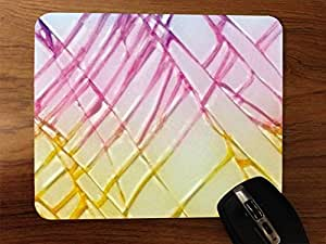 Cracked And Colorful Desktop Mouse Pad