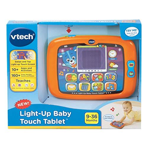 Vtech Light Up Baby Touch Tablet Orange Buy Online In