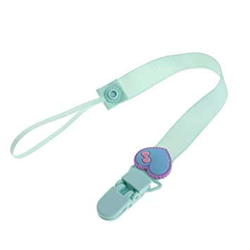 Baby Pacifier Chain Clip Holder Nursing Teether Dummy Soother Nipple Leash Strap