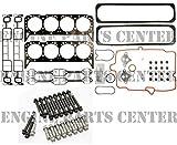 """Chevy 1996-2002 cHEVROLET GMC 5.7 5.7L 350 VORTEC Victor Reinz Cylinder Head Gasket Set+Bolts VIN""""R"""""""