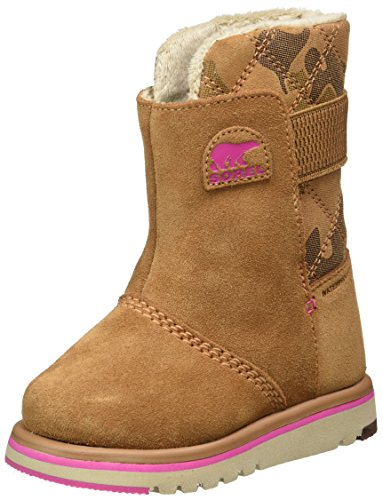 De Fille Children's Bottes Camo Marron Neige pink Sorel elk Rylee Ice qxw1O46I