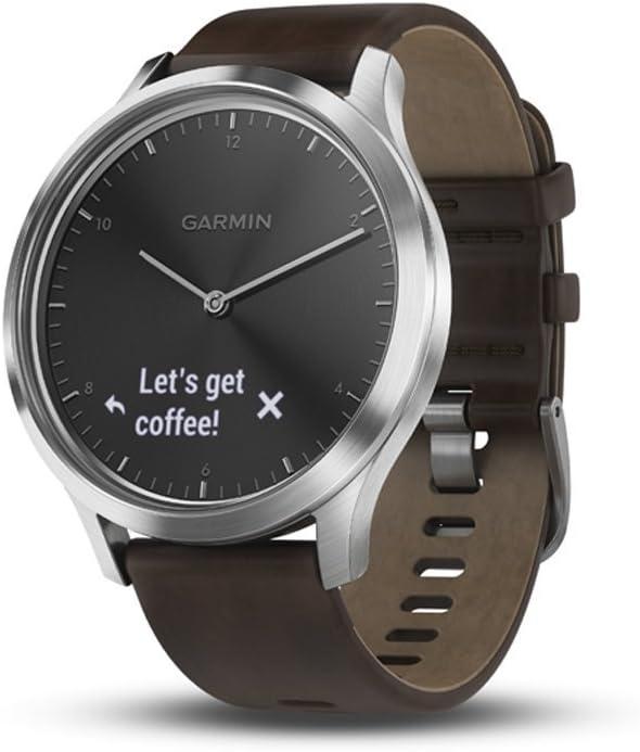 Amazon.com: Garmin Vivomove HR Premium (Black/Silver with ...