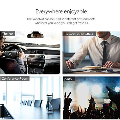 Avatar Controls Home or Car Air Purifier for MOD Clouds VapeNut, HEPA Filter