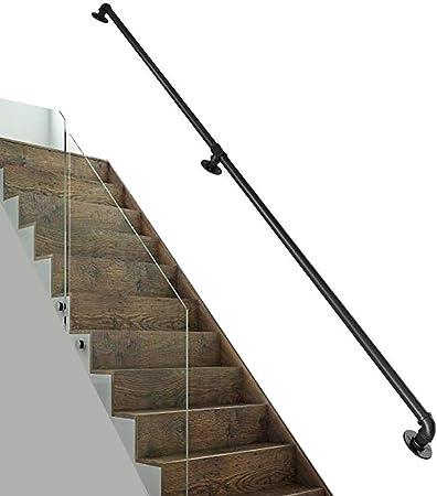 H.aetn Barandilla de Seguridad - Barandilla de Escalera montada en la Pared de 100-300 cm - para Uso en escaleras de Hospital, Pasillo: Amazon.es: Hogar