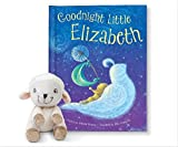 Personalized Bedtime Story New Baby Shower Newborn Book Gift (with Plush Lamb)