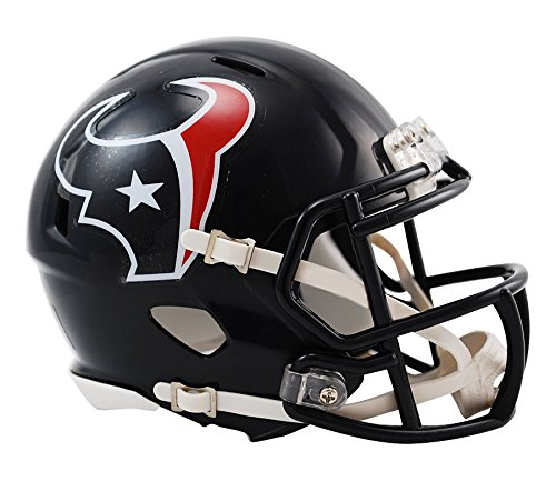 - Riddell Houston Texans NFL Replica Speed Mini Football Helmet